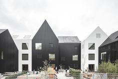 COBE Architekten setzen mit einem Konglomerat aus elf kleinen Häusern am Rande Kopenhagens neue Maßstäbe in der Kindergartenarchitektur.