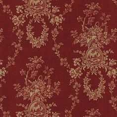 COUNTRY HOUSE TOILE RED - French Country - Newest Fabric Collections - Fabric - Calico Corners