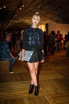 Looks de outono do Fashion Rio