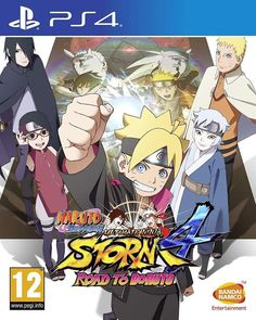 Naruto Shippuden: Ultimate Ninja Storm 4 –Road to Boruto by BANDAI PS4 - PROMOZ.