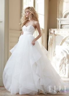 2013 Hayley Page Autumn Wedding Dress