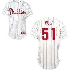 Carlos Ruiz Philadelphia Phillies Youth Replica Home Jersey by Majestic --- http://www.pinterest.com.luvit.in/477