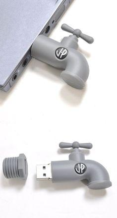 Cute Tap Style USB Flash Drive #duplication #easyreplication #USBDrives  https://www.easyreplication.co.uk/