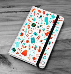 Glitz Notebook by Eugenia Anselmo, via Behance