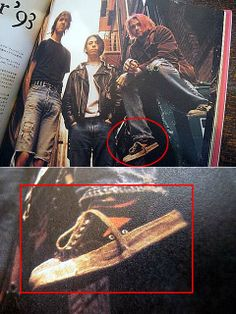 Kurt Cobain from Nirvana wearing Wilson by Bata shoes (1993) #batashoes