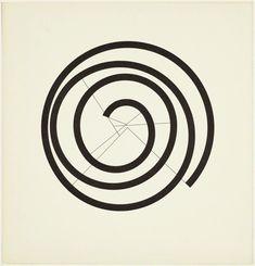 Dark Side of Typography — garadinervi: Max Bill, from 'Quinze variations. Howlin' Wolf, Max Bill, Nick Cave, Joan Miro, True Art, Dark Side, Art Sketches, Geometry, Contemporary Art