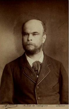 Paul Verlaine photographed by Alcide Allevy (1883).