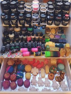 jessattack: Current Lush collection :) if anyone has any questions about things send me a message :)