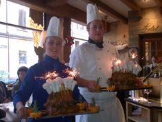 Crowned veal roast @ Restaurant Lapin @ Hotel de la Paix