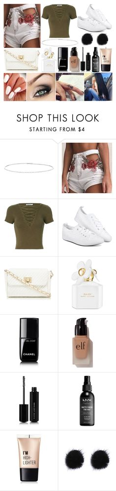 """Shopping Day"" by susanna-trad on Polyvore featuring Suzanne Kalan, T By Alexander Wang, Red Herring, Marc Jacobs, Chanel, e.l.f. and Charlotte Russe"