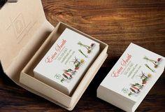 Arbonne Business Card Template - Independent Consultant Business Branding & Marketing - Arbonne Veggie Business card - digitaldetours