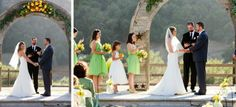 Yellow and Green California Ranch Wedding