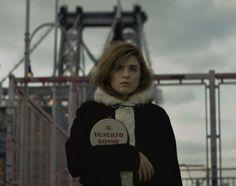 Cecile Cassel as Monica Vitti in Il Deserto Rosso by Max Farago for Olympia Le-Tan's Pitti W project.