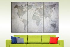 Livingroomdecor heres map large canvas print old world map wall grunge worldmap 5 panels wall art large world map art travel gift wall hanging gumiabroncs Images