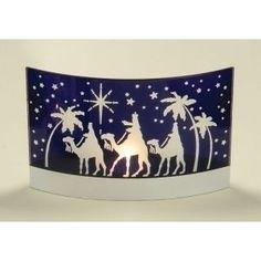Nativity silhouette scene