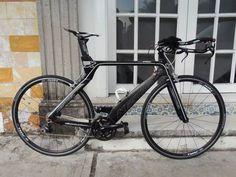 bicicleta triatlon kestrel airfoil pro sl solo el cuadro