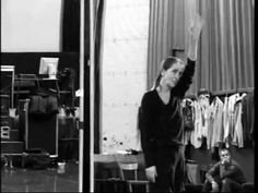 Pina Bausch -- another precious clip with her moving. And smoking. Always smoking.  :(