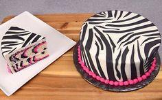 tarta de cebra Monster High