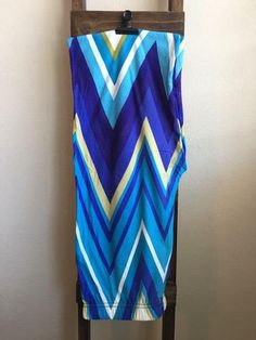 Chevron Hues of Blue One Size Buttery Soft Legging. Better than LuLaRoe! Buttery-Soft Leggings...for less! All leggings are $15 and ship for free!
