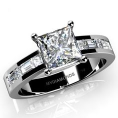 Grazia White Gold Diamond Engagement Ring