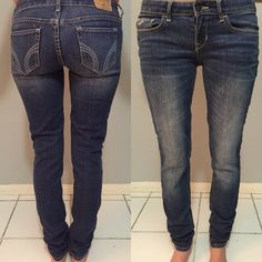 Hollister Jeans Size 1R {W 25 L 31} Used a handful of times just because I don't quite like the fit. They have a lot of life, in great condition. Open to offers as well! Hollister Jeans Skinny