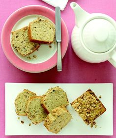 Banana-Crunch Loaf Bread #morning #breakfast #bread