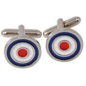 Mod cufflinks from The Who's website.