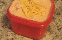 Yummy 21 day fix Buffalo Chicken Dip! #21dayfix