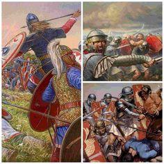 La barbarización del ejército romano se aceleró tras la derrota de Adrianópolis en la que el emperador Valente y 15.000 legionarios fueron aniquilados.