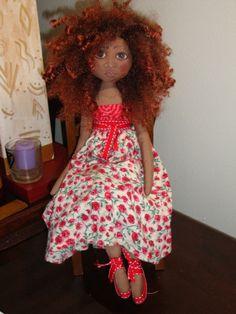 handmade Black doll