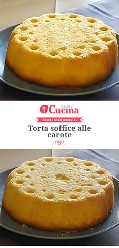 Torta soffice alle carote