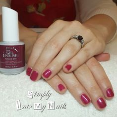 IBD Just Gel Polish Knock Out on clients natural nails