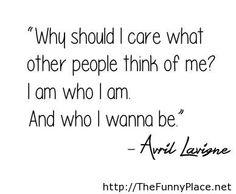 Avril lavigne quote