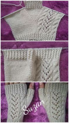 if you've ever wondered how to knit a pair of fingerless mittens, this Easy Fingerless Mitts Free Knitting Pattern is just for you.Einfache fingerlose Handschuhe Free Knitting Pattern Source by spSome Tips, Tricks, And Techniques For Your Perfect easy kni Fingerless Gloves Knitted, Knit Mittens, Knitting Socks, Baby Knitting, Free Knitting, Crochet Stitches For Blankets, Knitting Stitches, Knitting Patterns Free, Crochet Patterns