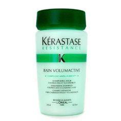 Kerastase Resistance Bain Volumactive Volumizing Shampoo For Fine, Vulnerable Hair, 8.5 Ounce