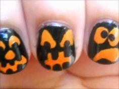 Halloween Faces Nails - Diseño de Uñas Caras Halloween
