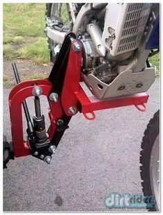 Гидравлический подъемник MX Hauler для перевозки мотоцикла - Багажники, фаркопы, кенгурины во Владивостоке