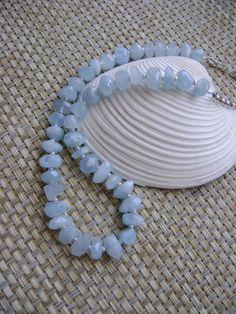 Blue Seas Topaz Necklace by smisko on Etsy, $87.00