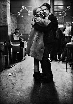 Anders Petersen, From series Cafe Lehmitz, 1967/ 1970.
