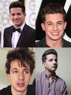 Charlie Puth Hairstyle