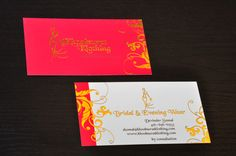 16pt. Silk Laminated with Gold Foil