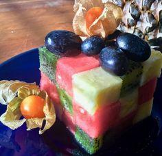 Rubikin kuutio, Rubiks cube, hedelmäsalaatti, fruit salad