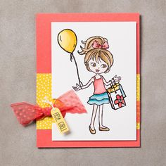 Hey, Girl Photopolymer Stamp Set by Stampin' Up!