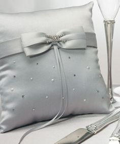 Platinum by Design Ring Bearer Pillow plus many more silver ring pillows for your ring bearer to carry down the aisle. Choose from ivory, white, black and many more colored ring bearer pillows. Ring Bearer Pillows, Ring Pillows, Wedding Pillows, Ring Pillow Wedding, Wedding Ring Designs, Wedding Rings, Wedding Favors, Gold Wedding, Wedding Ceremony