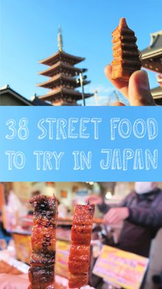 My Street Food Diary - Eating your way through Tokyo-Kyoto-Osaka
