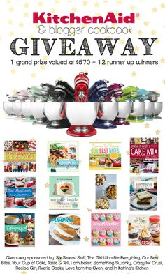 This is a test1.....  October 6, 2014, 3:30 pm KitchenAid Stand Mixer + Major Cookbook Giveaway! Get more at http://google.com  Post URL: http://54g.co/kitchenaid-stand-mixer-major-cookbook-giveaway/  Peace