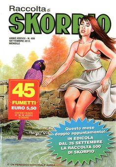Fumetti EDITORIALE AUREA, Collana SKORPIO RACCOLTA n°499 Settembre 2015