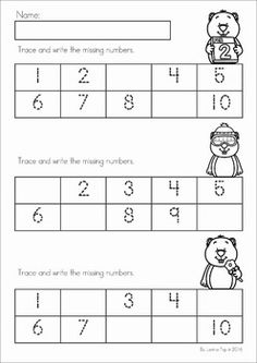 best groundhogs day  kinder images  groundhog day activities  groundhog day preschool math and literacy no prep worksheets and activities  a page from the