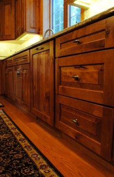 Hickory Kitchen Cabinets Pictures Knotty Hickory Kitchen