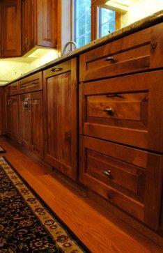 Rustic Birch Kitchen - rustic - kitchen cabinets - philadelphia - Sterling Kitchen & Bath
